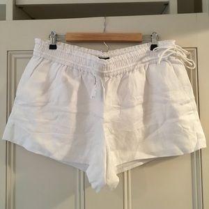 NWT jcrew linen shorts